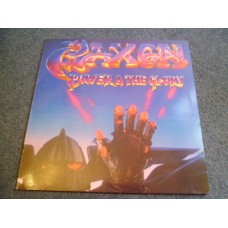 SAXON - POWER & THE GLORY LP - Nr MINT A1/B2 UK  METAL