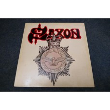 SAXON - STRONG ARM OF THE LAW LP - Nr MINT A1/B1 UK  METAL