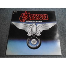 SAXON - WHEELS OF STEEL LP - Nr MINT A1/B1 UK  METAL