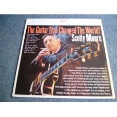 SCOTTY MOORE - THE GUITAR THAT CHANGED THE WORLD LP - Nr MINT A1/B1 UK ELVIS PRESLEY