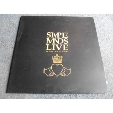 SIMPLE MINDS - LIVE IN THE CITY OF LIGHT 2LP - Nr MINT UK INDIE ROCK