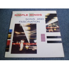 SIMPLE MINDS - SONS AND FASCINATION LP - Nr MINT A1/B1 UK INDIE ELECTRONICA