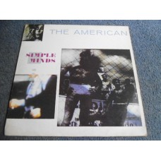 """SIMPLE MINDS - THE AMERICAN 12"""" - Nr MINT A1/B2 UK  ELECTRONICA"""