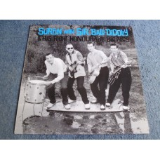 SURFIN' WITH SIR BALD DIDDLEY AND HIS RIGHT HONOURABLE BIGWIGS LP - Nr MINT GARAGE ROCK HIPBONE SLIM