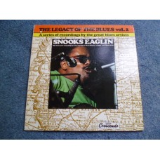 SNOOKS EAGLIN - THE LEGACY OF THE BLUES VOL 2 LP - Nr MINT US  BLUES NEW ORLEANS