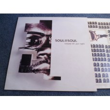 SOUL II SOUL - VOL III JUST RIGHT LP - EXC+ A1/B1 UK 1992  DANCE SOUL
