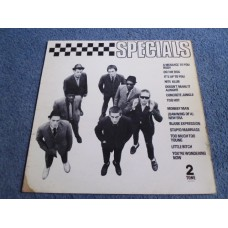 THE SPECIALS - DEBUT LP - VG A1/B5 UK   2-TONE SKA PUNK
