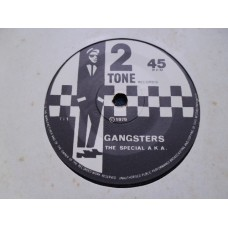 "THE SPECIAL AKA - GANGSTERS 7"" - Nr MINT UK FIRST PRESS PAPER LABEL SKA PUNK 2 TONE"