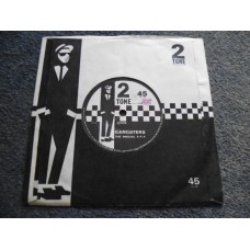 """THE SPECIAL AKA - GANGSTERS 7"""" - EXC+ UK PAPER LABEL SKA PUNK 2 TONE"""