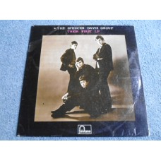 THE SPENCER DAVIS GROUP - THEIR FIRST LP - EXC+ 1L1 UK MONO STEVE WINWOOD