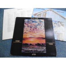 SPLIT ENZ - TIME AND TIDE / FRENZY 2LP - Nr MINT- UK PROG CROWDED HOUSE