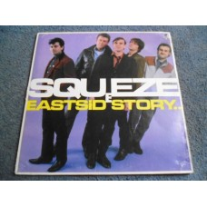 SQUEEZE - EAST SIDE STORY LP - Nr MINT A1/B1 UK NEW WAVE