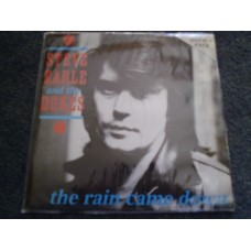 "STEVE EARLE - THE RAIN CAME DOWN 2x7"" - Nr MINT UK PIC SLEEVE  COUNTRY"