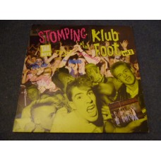 STOMPING AT THE KLUB FOOT VOL 2 LP - Nr MINT A1  PUNK PSYCHOBILLY