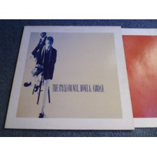 THE STYLE COUNCIL - HOME & ABROAD LP - Nr MINT A1/B1 UK INDIE PAUL WELLER THE JAM