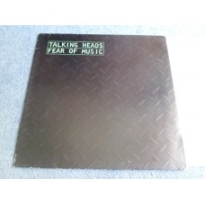 TALKING HEADS - FEAR OF MUSIC LP - Nr MINT A1  PUNK INDIE