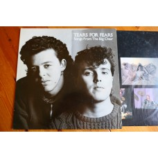 TEARS FOR FEARS - SONGS FROM THE BIG CHAIR LP - Nr MINT UK