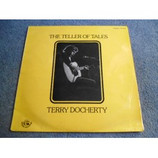 TERRY DOCHERTY - THE TELLER OF TALES LP - Nr MINT/EXC+ UK FOLK