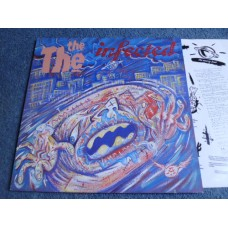 THE THE - INFECTED LP - Nr MINT- A1 UK INDIE MATT JOHNSON