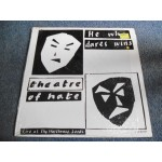 THEATRE OF HATE - HE WHO DARES WINS (LIVE AT LEEDS) LP - Nr MINT- UK  PUNK INDIE