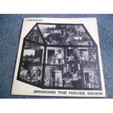 THERAPY - BRINGING THE HOUSE DOWN LP - Nr MINT A1/B1 UK  FOLK