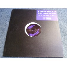 "THERAPY? - DIE LAUGHING David Holmes Remixes 12"" - Nr MINT A1/B1 PUNK METAL"
