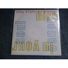 "THEY MIGHT BE GIANTS - BIRDHOUSE IN YOUR SOUL 7"" - Nr MINT UK  INDIE"