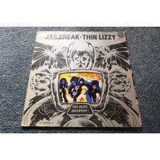 THIN LIZZY - JAILBREAK LP - Nr MINT/EXC+ 1Y1/2Y2 UK