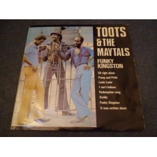 TOOTS AND THE MAYTALS - FUNKY KINGSTON LP - EXC+ A2/B2 UK REGGAE TROJAN