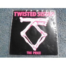 """TWISTED SISTER - THE PRICE 7"""" - Nr MINT UK METAL"""