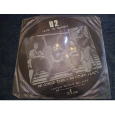U2 - LIVE IN BOSTON Picture Disc LP - Nr MINT  NEW WAVE  PUNK