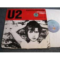"U2 - SUNDAY BLOODY SUNDAY 12"" - VG"