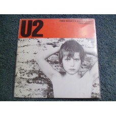"U2 - TWO HEARTS BEAT AS ONE 7"" - Nr MINT"