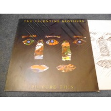 THE VALENTINE BROTHERS - PICTURE THIS LP - Nr MINT  FUNK SOUL