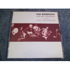 "VAN MORRISON with THE CHIEFTAINS - I CAN'T STOP LOVING YOU 7"" - Nr MINT 1991"