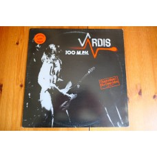 VARDIS - 100mph LP - VG+ A1/B1 UK PRESS METAL NWOBHM