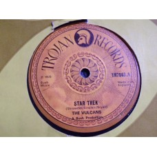 "THE VULCANS - STAR TREK 7"" - VG+ UK 1972 REGGAE SKA DUB"