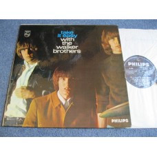 THE WALKER BROTHERS - TAKE IT EASY WITH THE WALKER BROTHERS LP - Nr MINT UK SCOTT WALKER