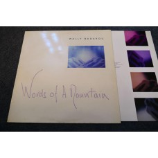 WALLY BADAROU - WORDS OF A MOUNTAIN LP - Nr MINT UK ELECTRONICA