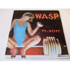 "WASP - 95-NASTY 7"" - Nr MINT UK  HEAVY METAL"