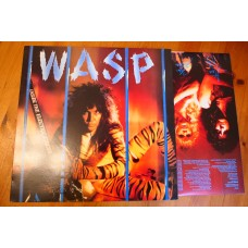 WASP - INSIDE THE ELECTRIC CIRCUS LP - Nr MINT A2/B1 UK  HEAVY METAL