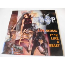 "WASP - LIVE ANIMAL (FUCK LIKE A BEAST) 7"" - Nr MINT UK  HEAVY METAL"