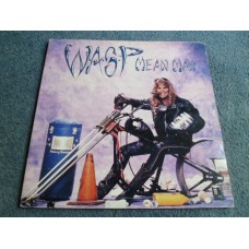"WASP - MEAN MAN 12"" - EXC+ A1 UK  HEAVY METAL"