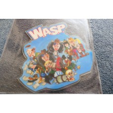 "WASP - THE REAL ME Shaped Picture Disc 7"" - Nr MINT UK  HEAVY METAL"