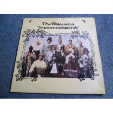 THE WATERSONS - FOR PENCE AND SPICY ALE LP - Nr MINT UK FOLK