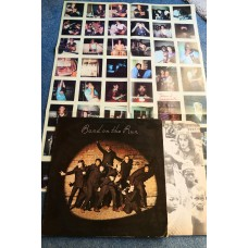 WINGS - BAND ON THE RUN LP + POSTER - Nr MINT UK  BEATLES