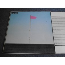 WIRE - PINK FLAG LP - Nr MINT UK ORIG  POST PUNK