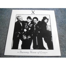 "X - BURNING HOUSE OF LOVE 12"" - Nr MINT UK PUNK ROCK"