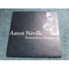"AARON NEVILLE - SOMEWHERE, SOMEBODY 7"" - Nr MINT  BLUES FOLK WORLD COUNTRY"