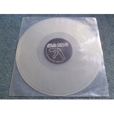 "APHEX TWIN - ANALOGUE BUBBLEBATH Clear Vinyl 12"" - Nr MINT  ACID DANCE TECHNO"